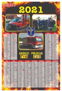 gasilski koledar 2021