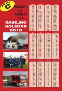 gasilski koledar