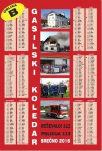 gasilski koledarji