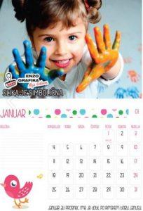 otroški koledar