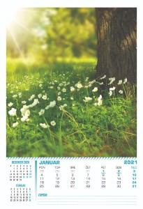 trimesečni koledarji 2021