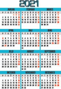 žepni koledarji 2021